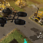 Steel Legions - Supply airship arrives at Golden Territories base
